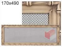 Krbová mřížka Diana zlatá 170x490