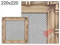 Krbová mřížka Diana zlatá 220x220