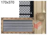 Krbová mřížka Diana zlatá s žaluzií GZ 170x370