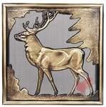 Krbová mřížka rustikální s motivem jelena