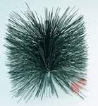 Kartáč ocelový čistící hranatý 150x150