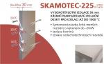 Izolační deska - Skamotec 225 tloušťka 30 rozměr 1000x610x30 mm